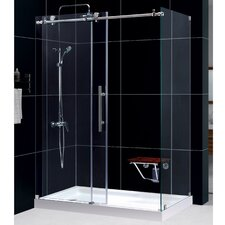 "Enigma-X 60.375"" x 34.5"" Sliding Shower Enclosure"