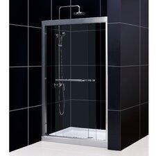 Duet Bypass Shower Door and SlimLine Shower Base