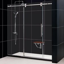Enigma Fully Frameless Sliding Shower Door