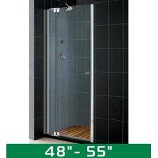 "Allure 48-55"" W x 73"" H Pivot Shower Door"