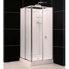 Qwall 4 Shower Enclosure Back Wall Kit