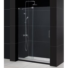 """Mirage 48"""" W x 74.75"""" H x 36"""" D Shower Door and SlimLine Shower Base"""