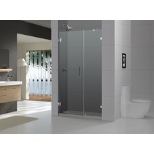 Radiance Frameless Hinged Shower Door