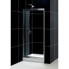 Butterfly Bi-Fold Shower Door and SlimLine Shower Base
