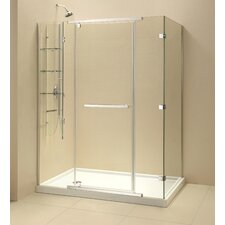 <strong>Dreamline</strong> Quatra-X Frameless Pivot Shower Enclosure