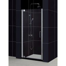 "Elegance 32"" W x 74.75"" H Pivot Shower Door and SlimLine Shower Base"
