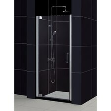 Elegance Pivot Shower Door and SlimLine Shower Base