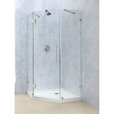 <strong>Dreamline</strong> PrismLux Hinged Shower Enclosure