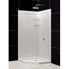 <strong>Dreamline</strong> SlimLine Neo Floor Shower Enclosure