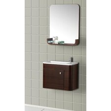 "<strong>Dreamline</strong> 19.88"" Wall Mounted Bathroom Vanity Set"