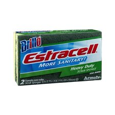 Estracell Heavy-Duty Scrub Sponge (2 Count)