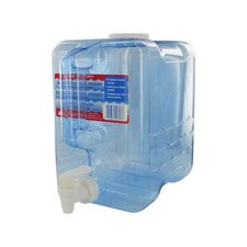 2 Gallon Beverage Dispenser Container in Clear