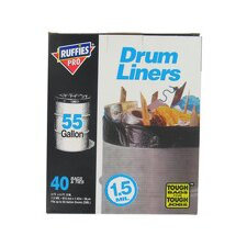55 Gallon Drum Liners (40 Count)