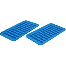 Silicone Water Bottle Ice Cube Tray (Set of 2)