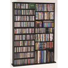Deluxe Multimedia Storage Rack