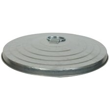 10 Gallon Medium Duty Galvanized Tapered Side Lids