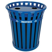 Wydman Outdoor 36 Gallon Industrial Recycling Bin
