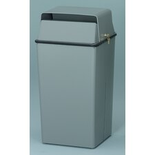 36 Gallon Secure Document Receptacle with Hasp Assembly for Padlocking