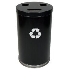 "18"" W Recycling Unit with Three Openings"