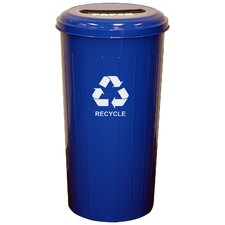 Metal Recycling 20 Gallon Industrial Recycling Bin