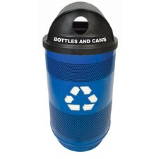 Stadium Series 55 Gallon Industrial Recycling Bin
