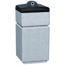 Stadium Series PLC Square Ash Urn Hide-A Butt