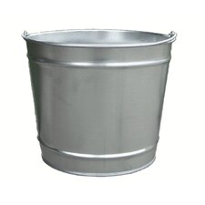 10 Quart Galvanized Steel Pail