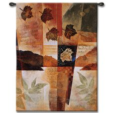 <strong>Fine Art Tapestries</strong> Abstract Autumn Medley I by Keith Mallett Tapestry