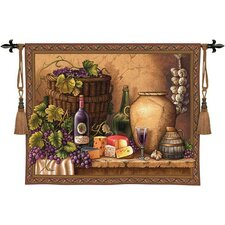<strong>Fine Art Tapestries</strong> Wine Tasting Tapestry