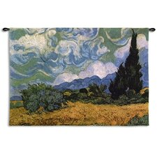 <strong>Fine Art Tapestries</strong> Wheatfields Cypress WH Tapestry
