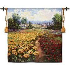 <strong>Fine Art Tapestries</strong> Tuscan Pleasures I BW Tapestry