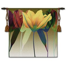 <strong>Fine Art Tapestries</strong> Tulip BW Tapestry