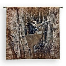 <strong>Fine Art Tapestries</strong> Birchwood Buck BW Tapestry