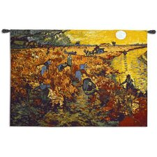 <strong>Fine Art Tapestries</strong> The Red Vineyard BW Tapestry