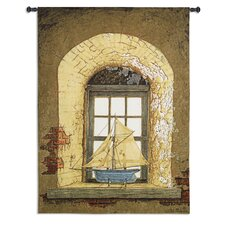<strong>Fine Art Tapestries</strong> Lighthouse Window by Bob Timberlake Tapestry