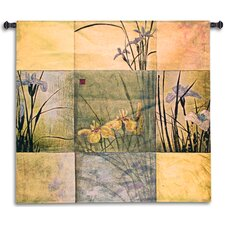 <strong>Fine Art Tapestries</strong> Iris Nine Patch Wall Hanging