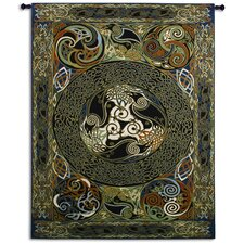 <strong>Fine Art Tapestries</strong> Ravens Panel by Delyth Tapestry