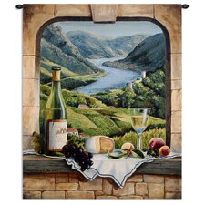 <strong>Fine Art Tapestries</strong> Rhine Wine Moment by Barbara Felisky Tapestry