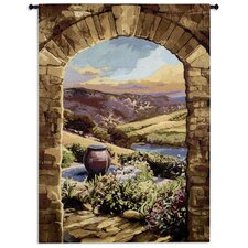<strong>Fine Art Tapestries</strong> Tuscan Afternoon by Brad Simpson Tapestry