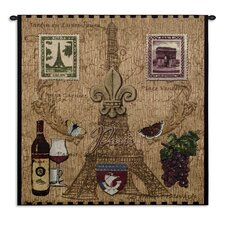 Paris with Love Tapestry