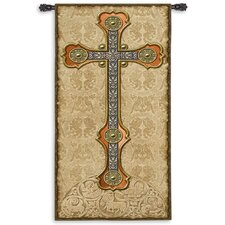 Vertical Cross Tapestry
