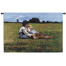 <strong>Fine Art Tapestries</strong> Boys In the Pasture by Winslow Homer Tapestry
