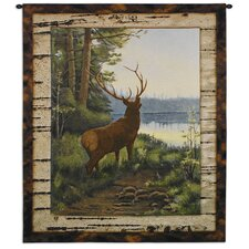Elk Tapestry Wall Hanging