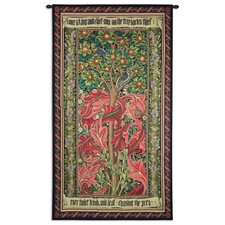 William Morris Woodpecker III by William Morris Tapestry