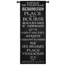 <strong>Fine Art Tapestries</strong> Streets of Paris Tapestry