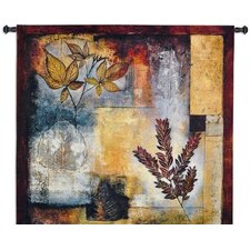 Organic Autumn Tapestry Wall Hanging