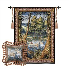 <strong>Fine Art Tapestries</strong> Verdure with Animals Tapestry