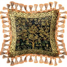 Tree of Life Midnight Blue Pillow