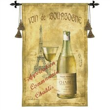 <strong>Fine Art Tapestries</strong> Classical Chablis 27 by Fabrice De Villeneuve Tapestry