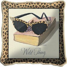 <strong>Fine Art Tapestries</strong> Wild Thing Pillow